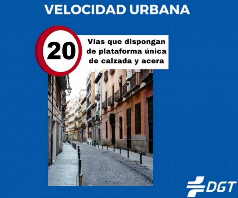 On May 11 speed limits will change on urban roads across Spain