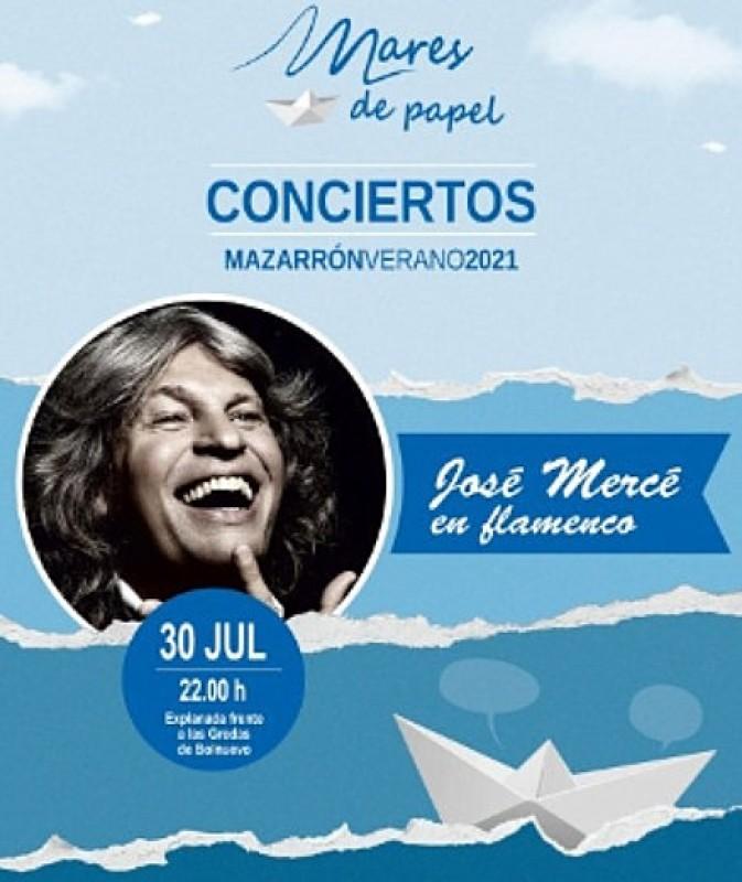 30th July, flamenco giant José Mercé performs live in Bolnuevo