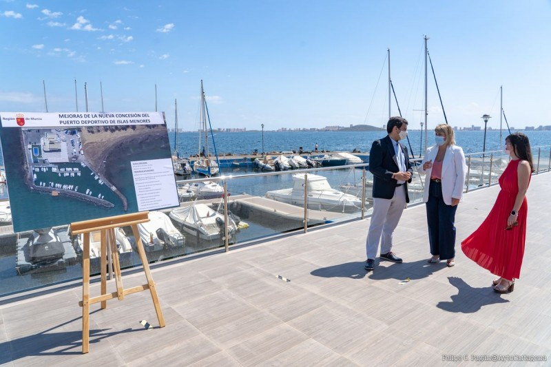 <span style='color:#780948'>ARCHIVED</span> - Plans to create more Mar Menor ferry routes as Islas Menores sporting port goes out to tender