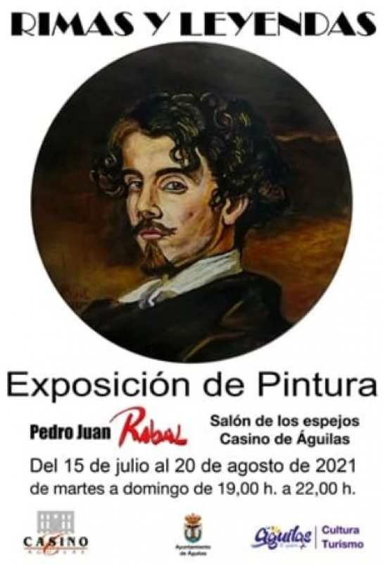 <span style='color:#780948'>ARCHIVED</span> - Art exhibition by local artist on display in Aguilas Casino until August 20