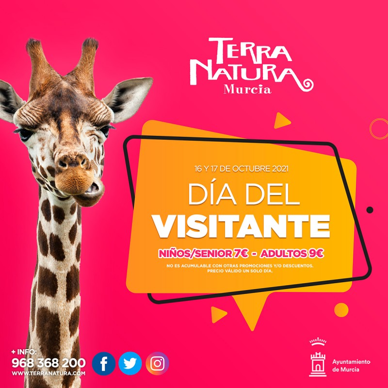 <span style='color:#780948'>ARCHIVED</span> - Half-price tickets at Terra Natura Murcia this weekend: October 16 and 17