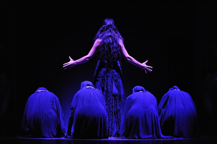 Sara Baras presents La Guardiana at Cante de Las Minas, La Unión