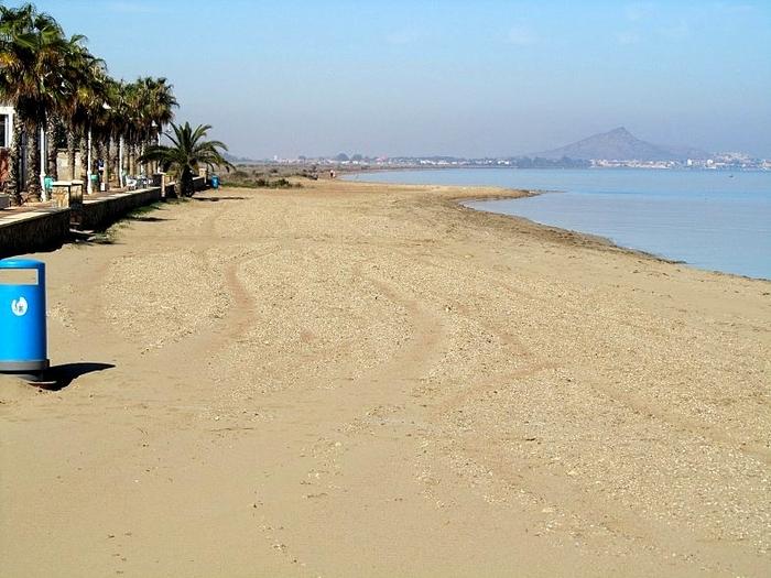 Cartagena beaches: Los Nietos