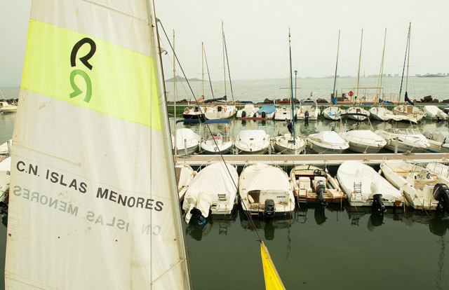 The marina of Islas Menores