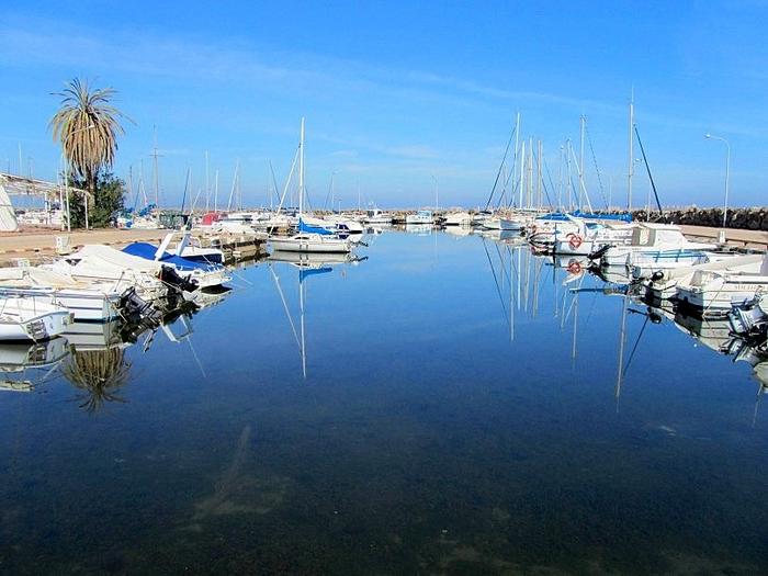 The marina of Mar de Cristal
