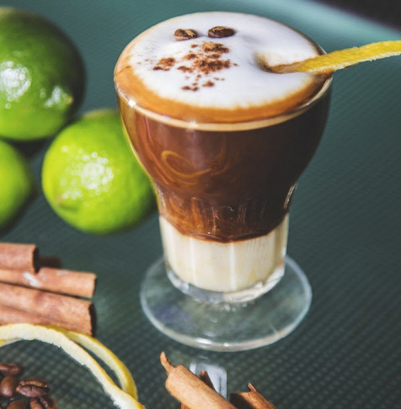 When visiting Cartagena try an Asiático Coffee