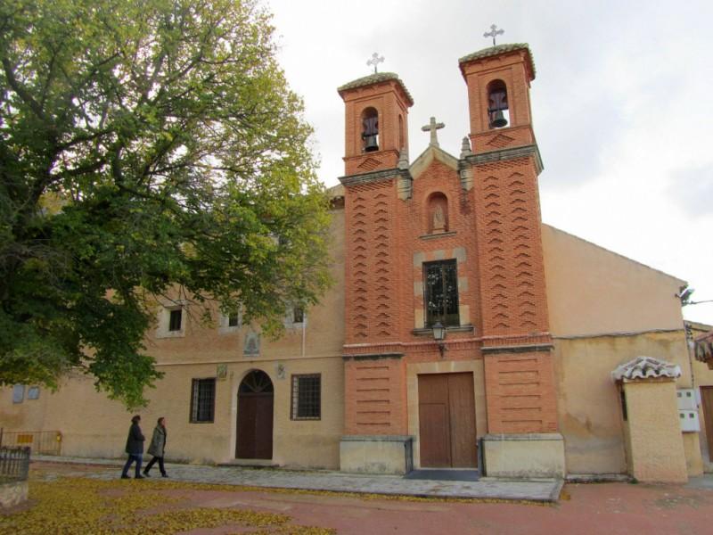The Monasterio de Santa Ana del Monte in Jumilla