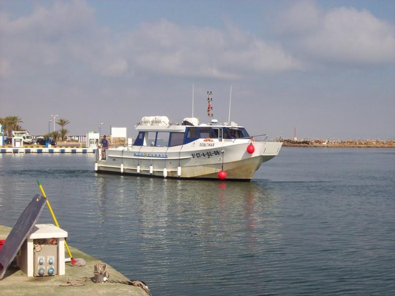 La Manga del Mar Menor boat tours and ferry service