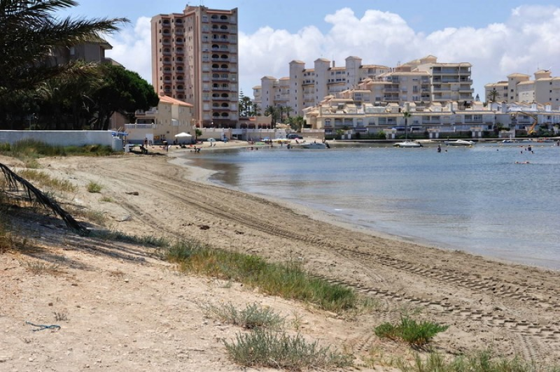 Playa El Galán - La Manga del Mar Menor Beaches