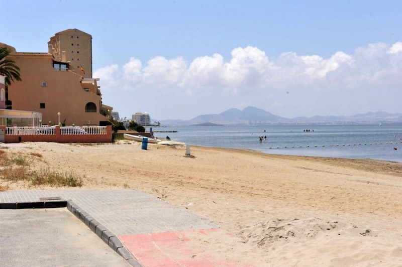 Playa de Poniente - La Manga del Mar Menor Beaches