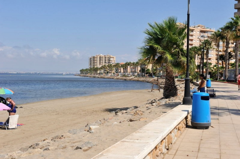 Playa Mistral - La Manga del Mar Menor Beaches