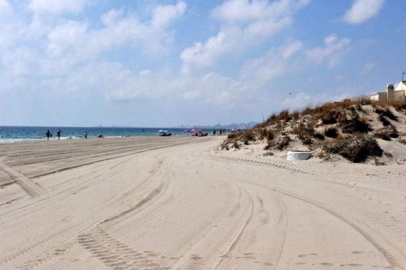 La Manga del Mar Menor beaches: Playa El Estacio