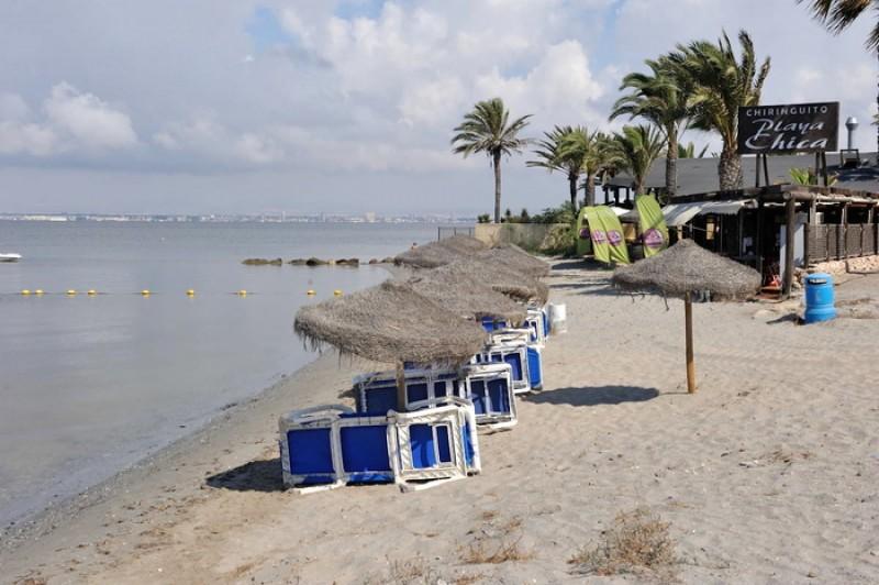 Playa Chica - La Manga del Mar Menor Beaches