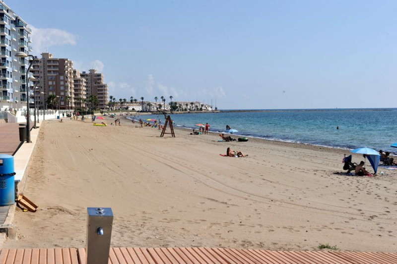 Playa El Pudrimel - La Manga del Mar Menor Beaches