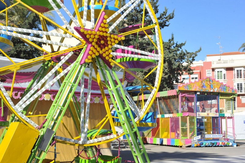 <span style='color:#780948'>ARCHIVED</span> - Children's funfair and places to visit in Águilas every weekend