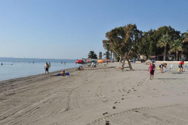 Playa de Barnuevo - San Javier beaches