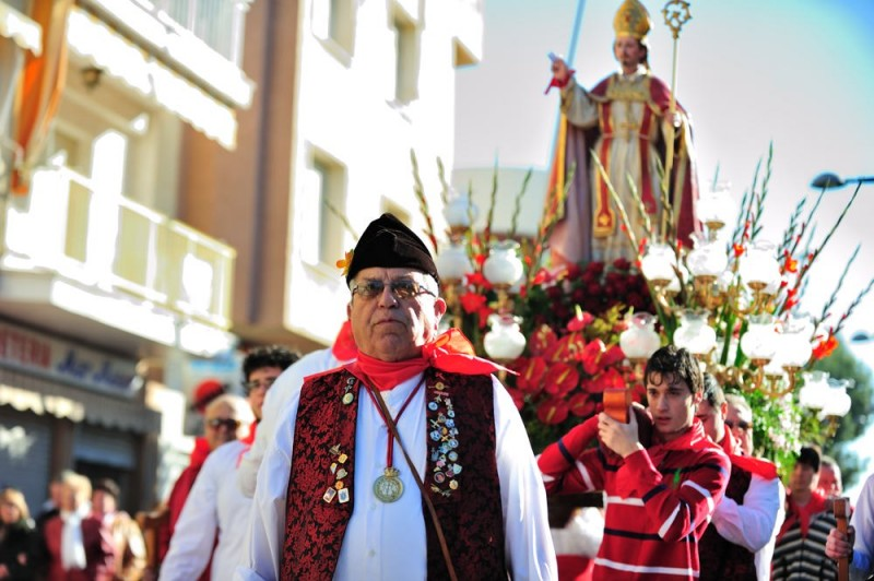 San Javier traditions: 3rd February Romería of San Blas