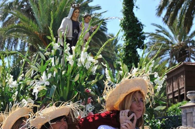 Fiestas in San Javier: 16th July Virgen del Carmen