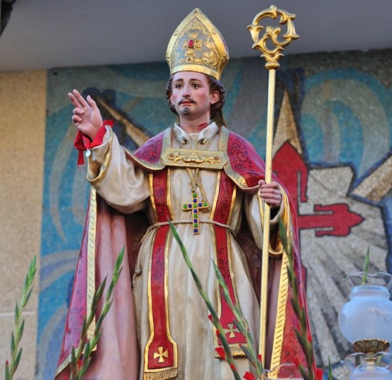 Roots of the cult of San Blas in Santiago de la Ribera