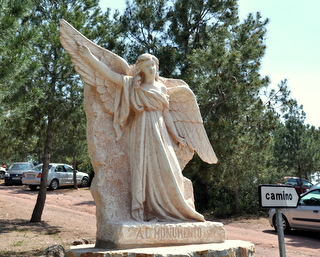The Via Crucis in Totana, stunning sculpture set in the beautiful Sierra Espuna