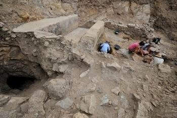 Uncovering the Cabezo del Pino Roman site in La Unión