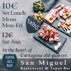 San Miguel Restaurant Cartagena