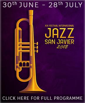 San Javier Jazz 2018 Banner