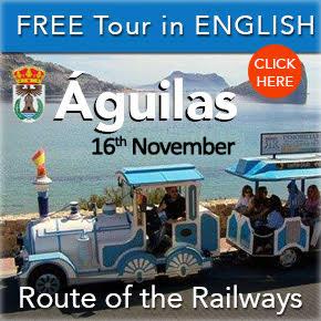 Aguilas Railway Tour 16th November