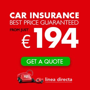Linea Directa Left column CAR Sponsor
