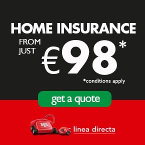 Linea Directa HOME INSURANCE  2 Left Col